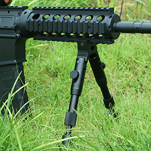 Feyachi 3 in 1 Tactical Riflebipod + Rail Mount Adapter + Barrel Clamp Adjustable Height from 6.5
