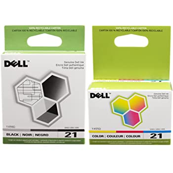330-5890/_2PK 2//PK Series 21 SuppliesMAX Compatible Replacement for Dell P513//P713//V313//V515//V715W Black High Yield Inkjet
