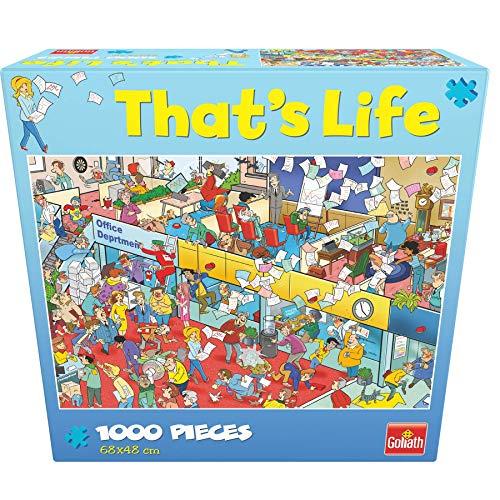 Goliath- Puzzle La Oficina That's Life, Multicolor (914784006)