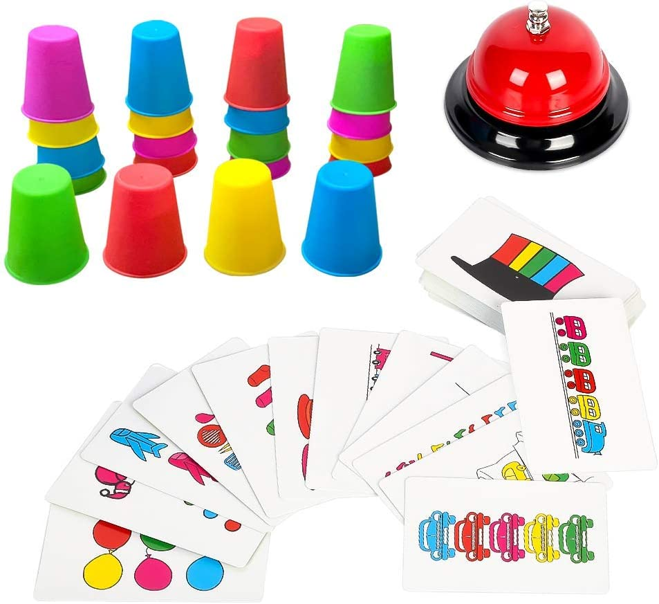 Youwo Quick Cups Games Stacking with Cards 54 Max 65% Sales OFF Picture Set