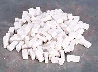 Dollhouse Miniature 1:12 Scale 125 Pc White Brick Corner SET #Ym0203cnr