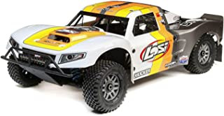 Losi 5Ive-T 2.0 1/5 Scale 4WD RC Short Course Truck Gas Powered BND with 6-CH Dsmr Telemetry Rx (Transmitter, Rx Battery, Charger, Fuel Not Included), LOS05014T2 (Grey/Orange/White)