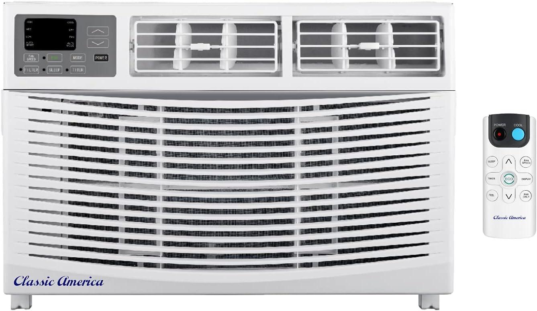 Max 68% OFF Classic America WiFi Window Air Conditioner 12000 1 BTU Regular store 12 CEER