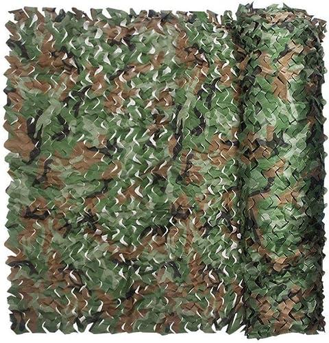 DLLzq Filet De Camouflage Crème Solaire Armée Filet De Camouflage des Bois Filet De Prougeection Solaire De Chasse Cachée,A-4M×8M