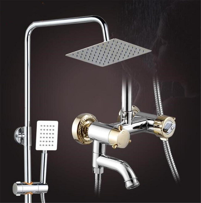 FFJTS Intelligentes thermostatisches Duschset - Super Pressurized Concealed Shower