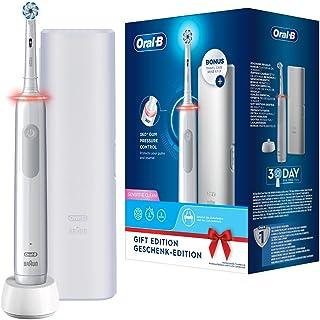 Oral-B PRO 3 3500 Elektrische tandenborstel/elektrische tandenborstel, met visuele 360° drukcontrole voor tandverzorging, ...