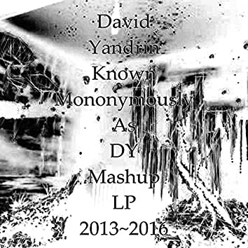 David Yandrin Known Mononymously As DY Mashup LP 2013~2016