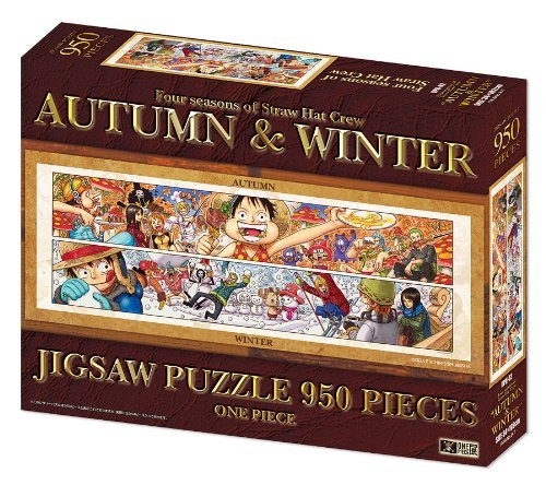 One Piece Jigsaw Puzzle ~ Four Seasons of Straw Hat Crew Autumn & Winter Exhibition (Japan Import)