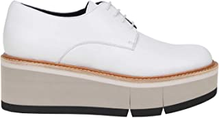 PALOMA BARCELÓ Luxury Fashion Womens DULCEWHITE White Lace-Up Shoes | Fall Winter 19