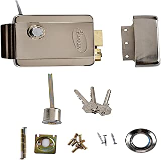 HOMYL Electronic Security Entry Door Lock Access Control Anti-Theft System with 3 Keys
