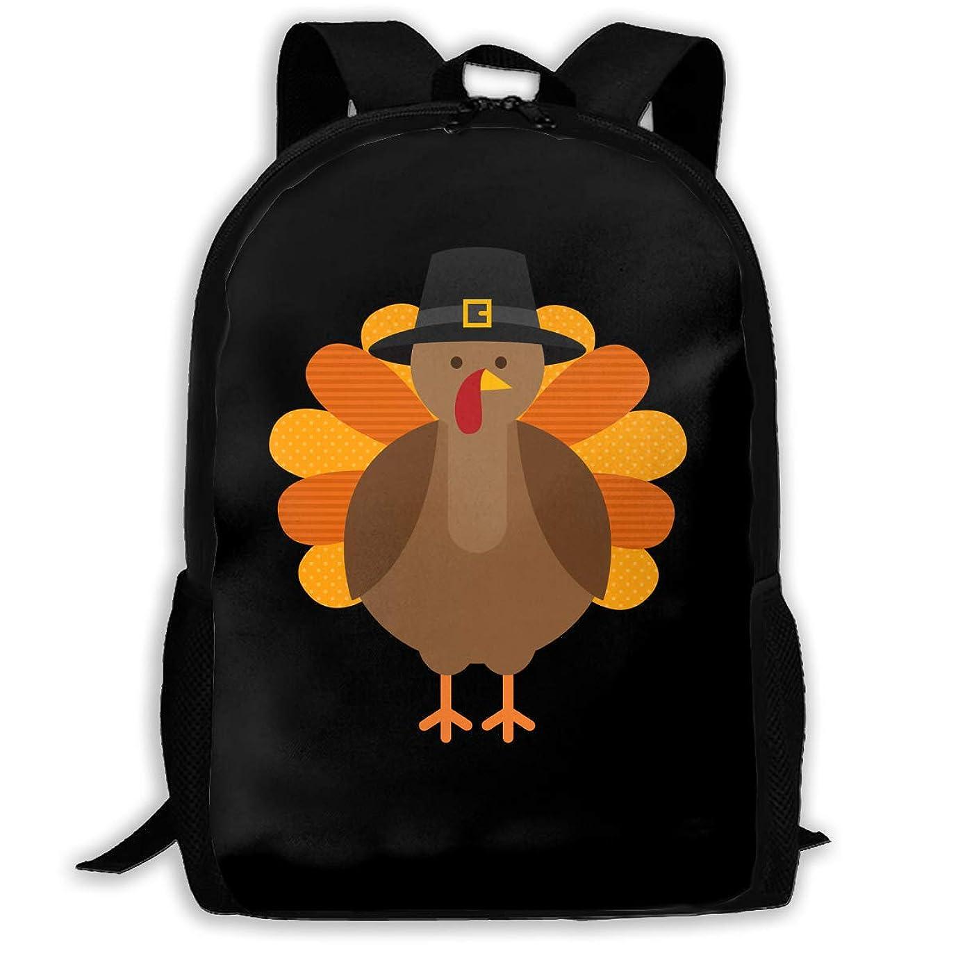 チェスまとめる失業おしゃれ カジュアル 軽く Thanksgiving ショルダーバッグ 大容量 キッズ 通用する リュック 通学 旅行 運動 ランドセル Black