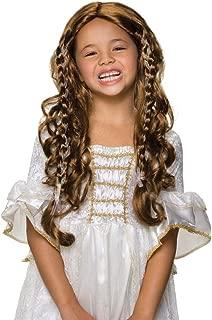 Rubie's Fairy Tale Princess Child's Costume Wig, Brunette