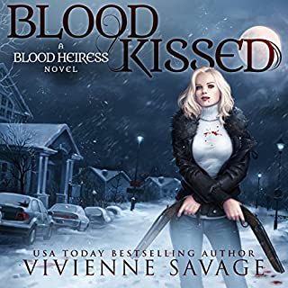 Blood Kissed     An Urban Fantasy Novel - Blood Heiress, Book 1              By:                                                                                                                                 Vivienne Savage                               Narrated by:                                                                                                                                 Charley Ongel,                                                                                        Tor Thom                      Length: 6 hrs and 8 mins     3 ratings     Overall 4.0