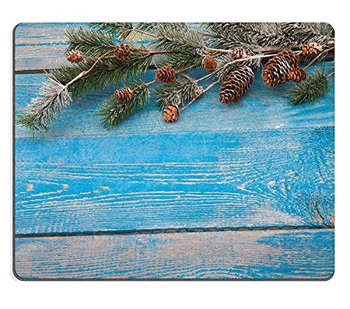 luxlady Gaming Mousepad imagen ID: 34466638Antecedentes de Navidad con Ramas de abeto...