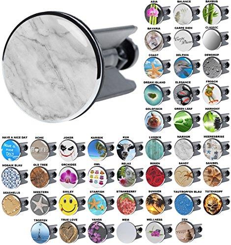 Waschbeckenstöpsel Marmor, viele schöne Waschbeckenstöpsel zur Auswahl, hochwertige Qualität ✶✶✶✶✶