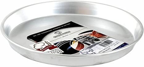 Pentole Agnelli Pastry & Pizza Line Aluminium Conical Cake-Pan with Rim, Diameter 16 cm, Silver, 16x16x3 cm