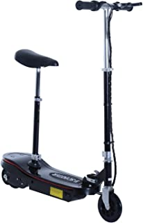 HOMCOM Patinete Plegable Scooter Eléctrico con Luz LED