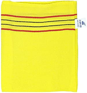 Exfoliating Scrub Bath Massage Italy Towel 10pcs Yellow Korean Style Include Exfoliating Scrub Soap