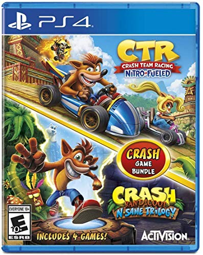 Crash Team Racing + Crash Bandicoot N.Sane Trilogy Bundle – Playstation 4