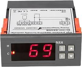 KKmoon 10A 220V Mini Digital Aire Humedad Controlar Controlador Medición Rango 1% ~ 99% con Sensor
