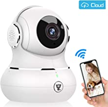 $40 » Baby Monitor, Littlelf WiFi Pet Camera, 360-degree Wireless IP Home Security Camera, Motion Detection, Super IR Night Vision, Two-Way Audio