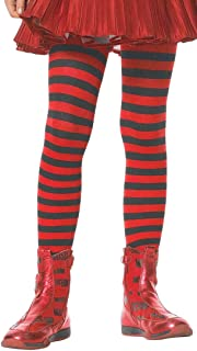0c671a9261 ToBeInStyle Girls  Horizontal Striped Full Length Tights