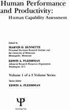 Human Performance and Productivity: Volumes 1, 2, and 3