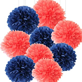 Best coral and navy blue Reviews