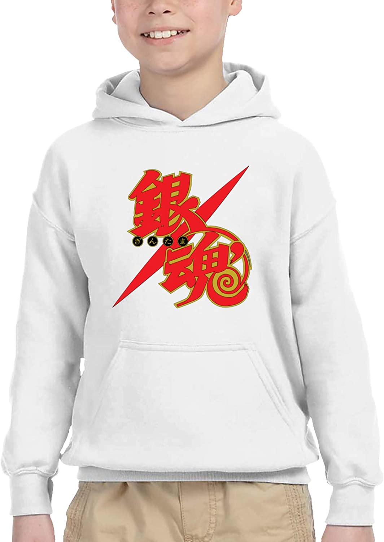 Gintama Logo Kids Hoodie Memphis Mall 3D Print Trend Custom Sweatshirt lowest price