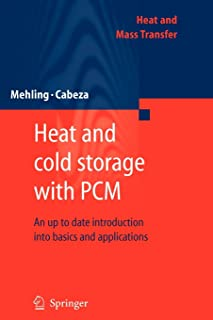 Heat and cold storage with PCM: An up to date introduction into basics and applications