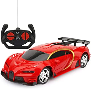 Remote Control Car, RC Cars Gifts for Kids Electric Sport Racing Hobby Toy Car Red/Blue Model Vehicle for Boys Girls Adult...