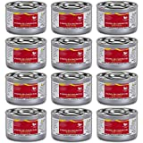 Chafing Dish Fuel Cans – Includes 12 Ethanol Gel Chafing Fuels, Burns for 2.5...