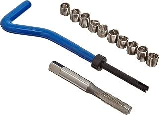 E-Z Lok EK40620 Metric Helical Threaded Insert Kit, 304 Stainless Steel, M6-1.0 Thread Size, 12 mm Installed Length (Pack of 10)