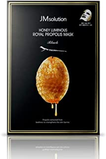 〔JMsolution〕 Honey Luminous Royal Propolis Mask / Korea Facial Mask / 30ml X 10PCS / Honey Mask Sheet / Giving Skin Glow & Elasticity