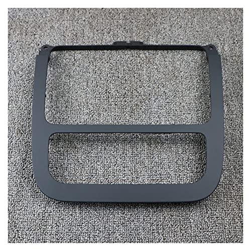 Qinndhto Panel de CD Negro Envolvente Aire Acondicionado Panel de Aire Acondicionado Dash Radio Frame 1K0858069 FIT FOR VW Golf MK5 MK6 Jetta MK5 (Color Name : Radio Trim Frame)