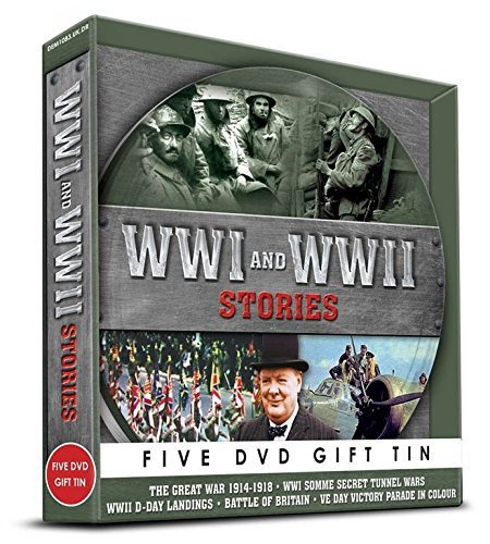 WWI & WWII Stories Gift Tin [DVD]
