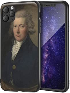 Thomas Gainsborough iPhone 11 Pro Max用ケース/ファインアート携帯電話ケース/高解像度ジクレーレベルUV複製プリント、携帯電話カバー(ウィリアム・ピット)