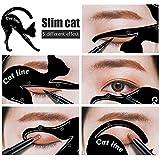 Modelo de Cat Eyeliner 10 Styles para el Blissany, Cat ojos, ojos...