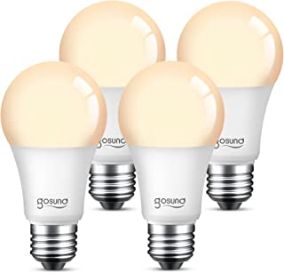 Smart Alexa Light Bulb 75W Equivalent E26 8W Upgraded LED WiFi Bulb A19 Dimmable Works with...