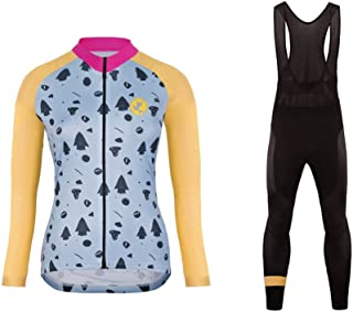 Uglyfrog, Último Mujer Warm Ciclismo Mangas Largas Maillots Cremallera Completa Moda Transpirable Winter Cálido Ropa Deportiva