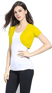 94757d2fd8b Sofishie Trendy Short Sleeve Shrug Open Cardigan