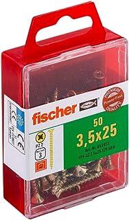 Fischer Power-F 659244 houtbouwschroef Verzonken kop 3,5x25 geel verzinkt