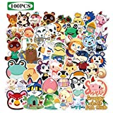 Animal Crossing Stickers 100pcs Game Stickers Cool Stickers for Hydro Flask Water Bottles