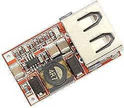 Konvertierungs-/Überwachungsadapter Down-Converter-Regler DC-DC-Abw/ärtswandler-Spannungswandler-Reduzierer-Regler 12V // 24V zu USB 5V 3A Netzteiladapter