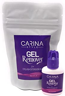 Gel Remover For Eyelash Extensions Glue Removal Fast Action Dissolves in 60 sec for Professional 15ml