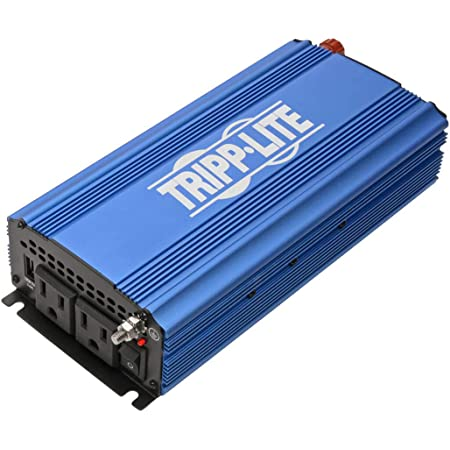 Tripp Lite 750W Compact Portable Power Inverter for Cars, Car Outlet Adapter with 2 AC 1 USB Outlets (PINV750)