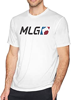 CXHKJ Major League Gaming MLG O-Neck Cool Dry Short Sleeve Cotton Tee Shirts for Men