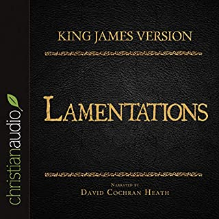 Holy Bible in Audio - King James Version: Lamentations cover art