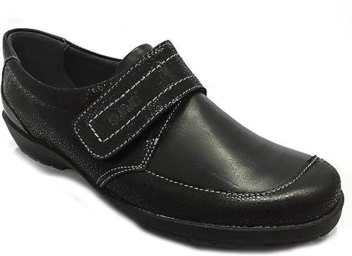 Suave Chaussures Chaussures Chaussures Confortables Velcro Gabarit Soft M-301 Noir 765