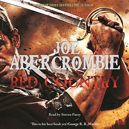 Red Country audiobook cover art